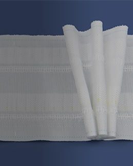 """6/"""" Pencil Pleat Curtain Tape//WOVEN Pocket Header Tape for Heavy Curtains//5mts"""